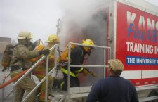 Lincolnville firefighters benefit from ?live-burn? trailer