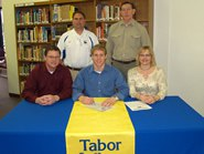 Suderman signs for Bluejay football