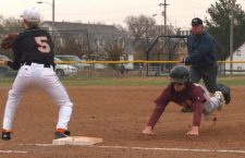 HHS Baseball splits at Smoky Valley