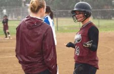 Trojan softball team wins one at Halstead, rain claims Game 2