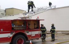 Evasive AMPI fire causes limited damage