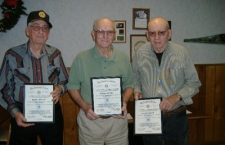 Legion honors long-time members