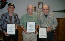 Legion honors long-time members