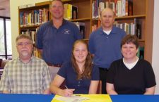 McCarty signs track letter with Tabor