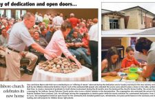 Day of Dedication and open doors?