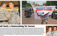 Pratt hosts a homecoming for heroes