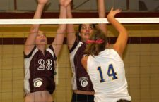HHS volleyball wins twice at home, claims league lead