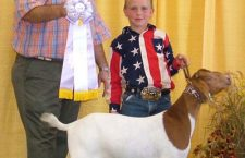 Riffel goat is runner-up at state fair