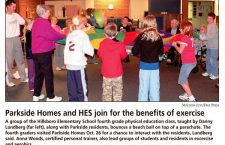 Parkside Homes and HES join for the benefits of exercise
