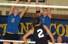 Swedes, Coyotes beat Bluejays twice