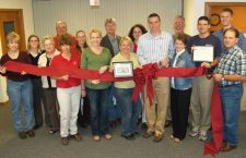 Ribbon-cutting for new financial firm