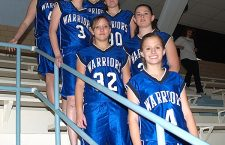 Warrior girls have experienced core, but limited depth