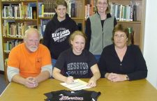 Carlson signs with Hesston College