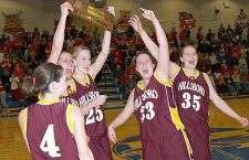 Two state titles by Trojan girls was memorable