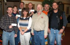 Area charities receive Toy Run checks, bicycles and toys