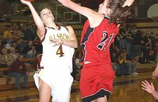 Hillsboro girls fall short against Swathers