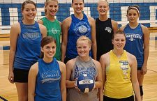 GHS volleyball team returns with 7 letters