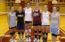 Core four to fill graduation void for Trojan volleyball