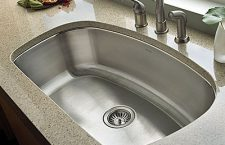 Stainless steel sinks make sense for several reasons