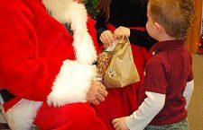 Santa Claus makes a ?cooperative? visit