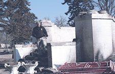 Historic blaze in Burns