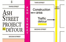 Ash St. project  likely to begin next week
