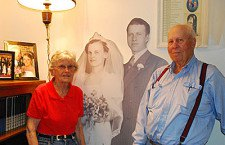 Love story continues seven decades for Durham couple