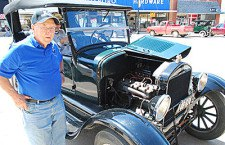 Model T hobbyists enjoy local sites and hospitality