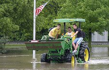 Weekend rains lead to flooding in Peabody