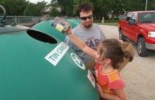 Volunteers key to recycling effort