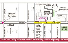 USD 410 aims to change traffic habits at elementary school