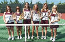 Trojan tennis returns last year?s full varsity lineup