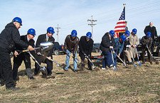Groundbreaking at last / Ceremony marks start of hospital project