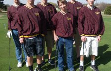 HHS golf fields young team