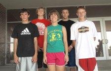 New coach, Jordan Hett will lead MHS cross-country team