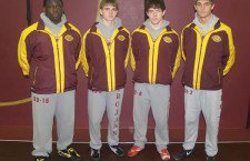 Trojan wrestlers young, inexperienced but athletic