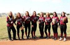 Trojan softball returns all-league core for 2012