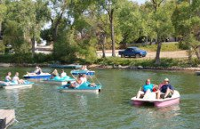Organizers deem first lake paddle-boat race a success