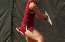 HHS tennis competes at home tourney