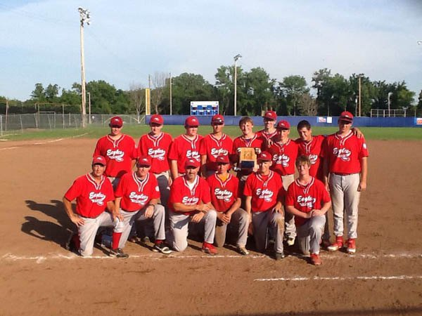 The 15-year-old Cottonwood Valley League All-Stars team finished third last week at the Babe Ruth state tournament. Pictured are: front row (from left) head coach Kelly Nelson, assistant coach Galen Wiens, assistant coach Scot Loyd, Dakota Stimpson, Reed Wiens, Caleb Sovde; back row, Nick Bray, Jordan Gagnebin, Caleb Bettles, Ethan Loyd, Tanner Klingensmith, Lane Wiens, Kyle Riffel, Ryan Grant, Hunter Pearson. Not pictured: Preston Busenitz.