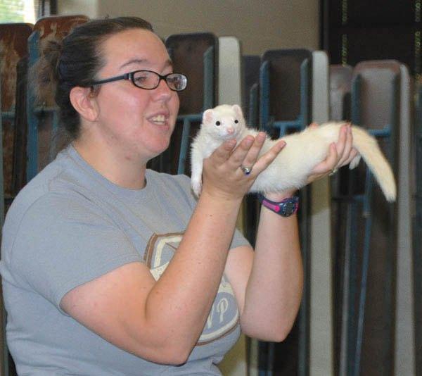 Summer readers hear of exotic animals