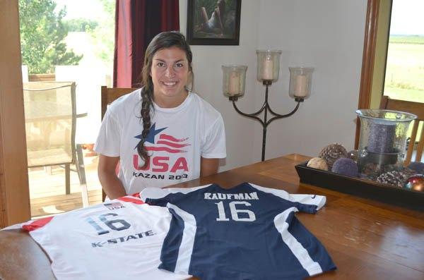 Local KSU athlete part of Team USA effort