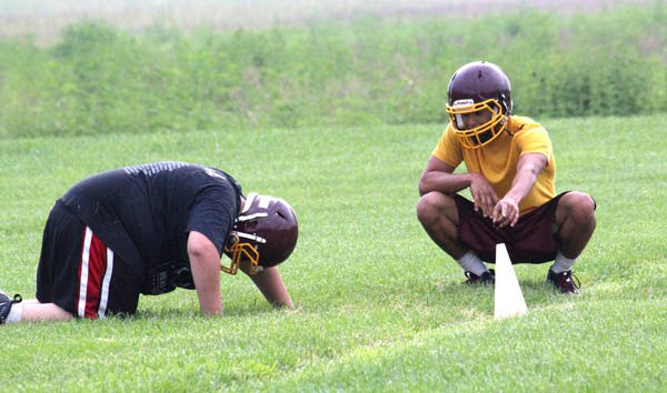 Athletes turn out for first official day of fall sports practice