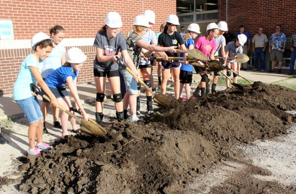 Goessel breaks ground for facilities addition