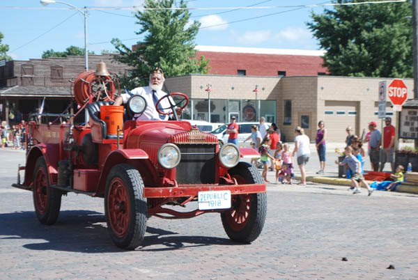 Florence Labor Day Celebration salutes fire department for 125 years of service