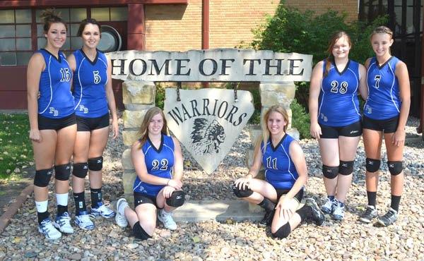 Warrior volleyball returns veteran core