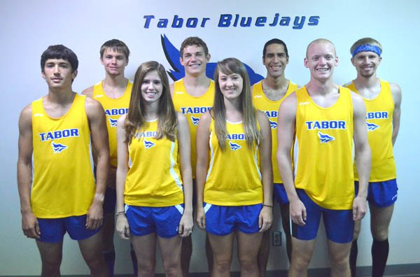 Two national qualifiers pace Tabor cross-country teams