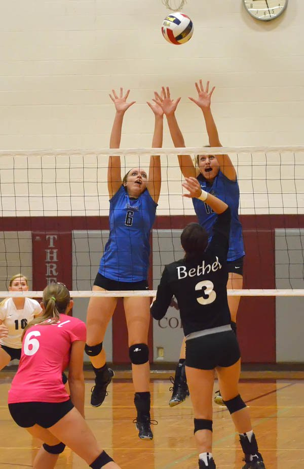 Tabor volleyball goes 4-1 for week