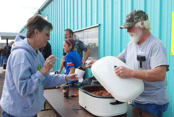 Annual chili cookoff spices up life at county lake