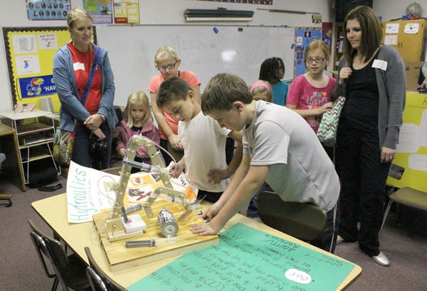 First science fair deemed a successful experiment